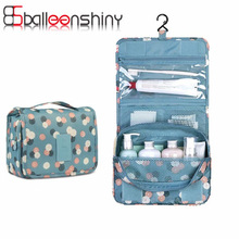 Portable Waterproof Folding Wash Bag Travel Toiletry Hanging Holder Organizer Cosmetic Makeup Container Handbag Storage Bag