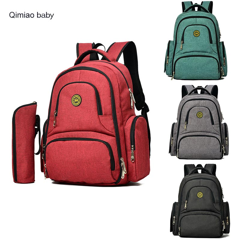 Fashion Maternity Mummy Bag Multifunction Large Capacity Backpack Baby Nappy Bag Insulation Stroller Bag Diaper Bag Outdoor Need<br>