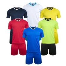 2017 New 6 colors Men size Multicolor optional soccer training jerseys football team unifroms Quality Jerseys(China)