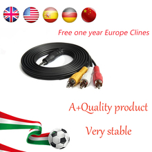 HD AV Cable 1 Year Clines Spain for Satellite Receiver 4 lines DVB-S2 via USB wifi for 1 year Europe(China)