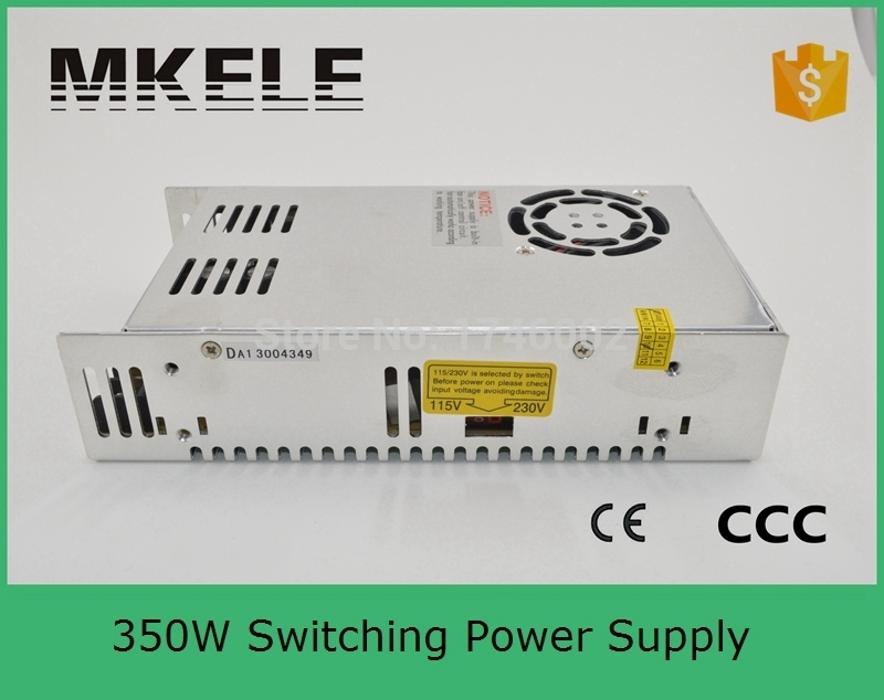 Low price low ripple noise firm 350W 12V 29A S-350-12 AC/DC Switching Standard LED/3d printer Power Supply CE  Free Shipping<br>