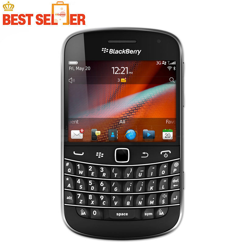 Original Blackberry 9930 Unlocked 3G Wifi GPS Phone 5MP Camera 768MB ROM 8GB RAM With QWERTY Keyboard Mobile Phone Free Shipping(China)