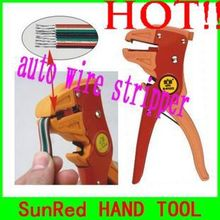 BESTIR taiwan duckbilled style auto wire stripper and cutter steel and strengthened nylon glass fiber TOOL,NO.01212 hot sale(China)