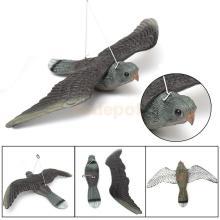 Lifelike Flying Bird Hawk Pigeon Decoy Pest Control Garden Plant Scarer Scarecrow(China)