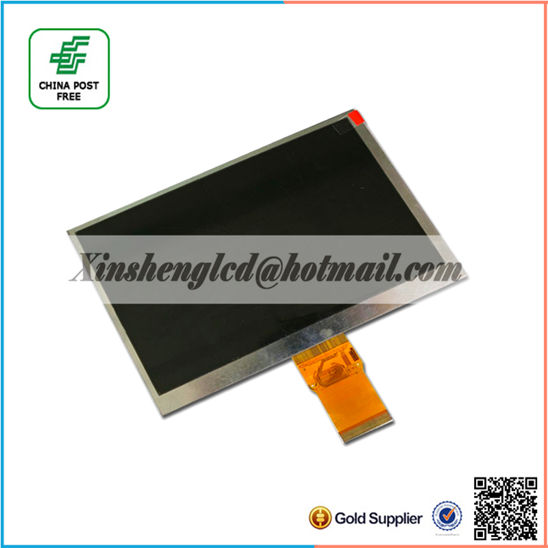 7.0 inch 50PIN TFT LCD Screen KR070PM1T 1024*600 Tablet PC Inner Screen<br><br>Aliexpress