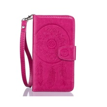 for HTC Desire 626 Phone Cases Imprinted Dream Catcher Wallet Stand Leather Case Cover Bag Shell for HTC Desire 626 - Rose