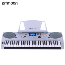 ammoon SNK-1600 61 Keys Multifunctional Electronic Keyboard Electric Organ LCD Display USB MIDI Interfaces Pitch Bend Wheel(China)