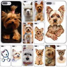 1096F yorkshire terrier dog puppy Hard Coque Shell Phone Case for Apple iPhone 7 7 Plus 6 6S Plus 5 5S SE 5C 4 4S Cover