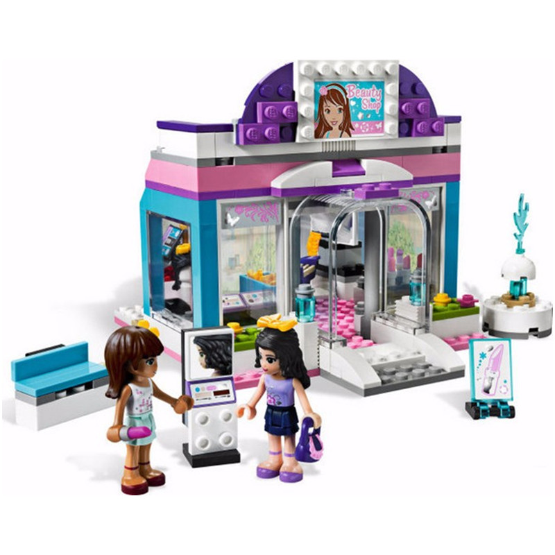 BELA 10156 Friends Olivia Stephanie Emma mia and Andrea Store Building Blocks Compatible With  3187 Friends Toys Bricks Gift<br><br>Aliexpress