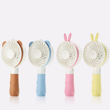 Mini Fan Portable Hand Held Desk Humidification Mini Cartoon Fan Compact And Lovely Delicate and Durable Mini Handheld Fan