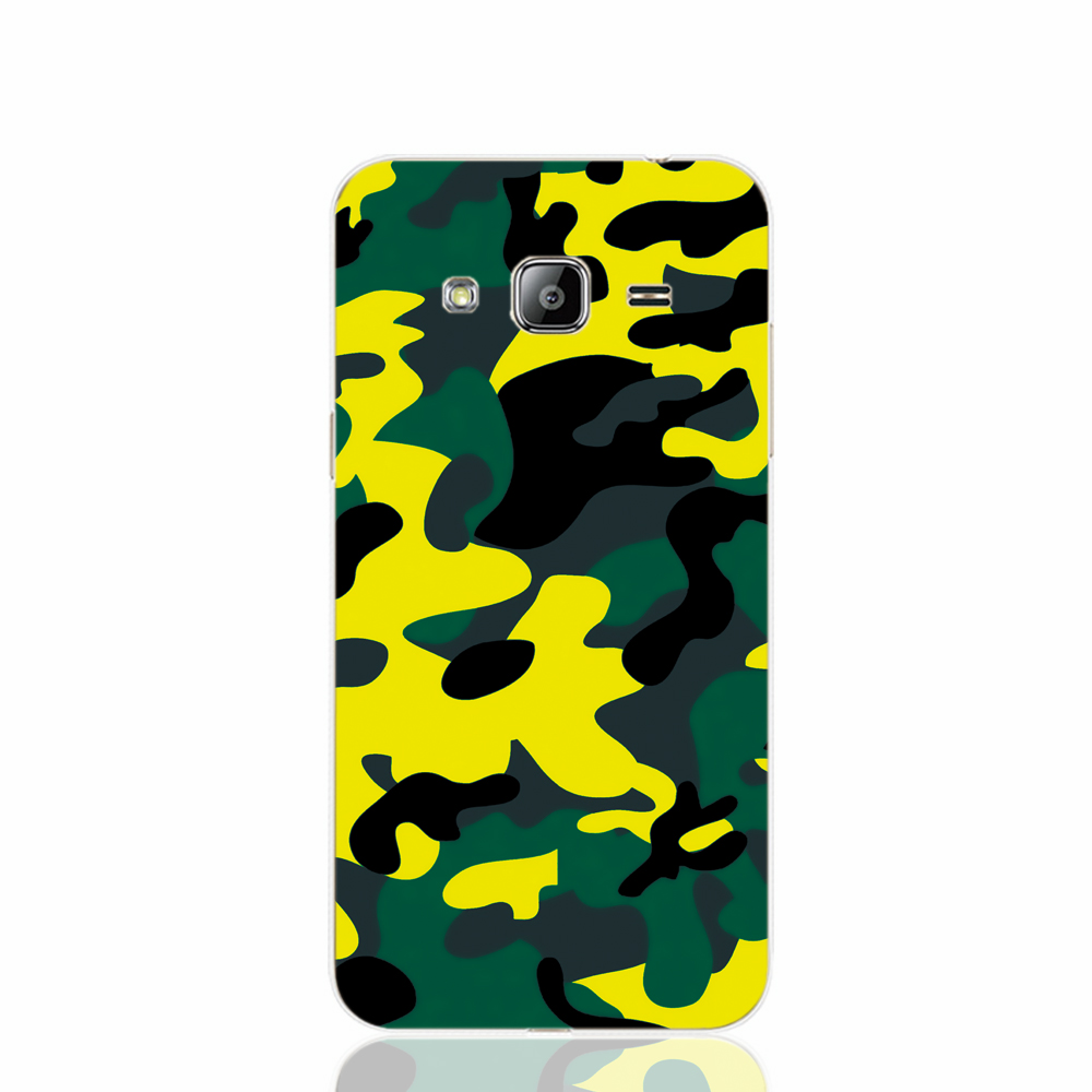 19644 Camouflage Military cell phone case cover for Samsung Galaxy J1 MINI J2 J3 J7 ON5 ON7 J120F 2016 2015(China (Mainland))