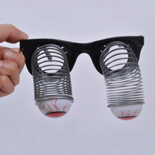 Prank toys novelty eyes out glasses toys kids tricky party glasses horror eyes out glasses toys masquerade supplies funny toys(China)