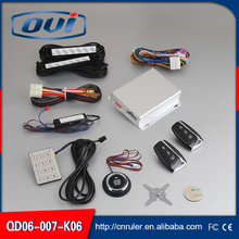 Universal car alarm touch button reomte start engine start stop PKE passive keyless entry system