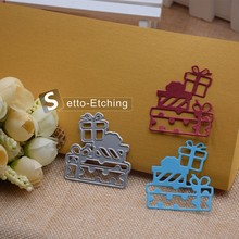Christmas Present Metal Cutting Dies Stencils for DIY Scrapbooking/photo album Decorative Embossing DIY Paper Cards Craft Gift