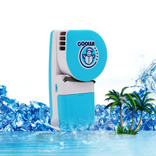 Mini Portable Hand Held Air Conditioner Cooler Fan Runs On Batteries Or USB Ar Condicionado Pack of 10 GLTH00443