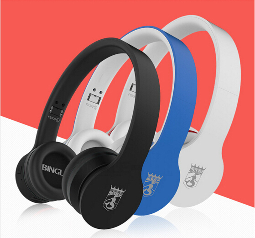 Bingle FB300 Bluetooth 4.0+EDR CSR Wireless NFC Noise Cancelling Sports Portable HIFI DJ Studio Music Headphone Headset Earphone<br>