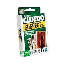 """Cluedo Suspect"" Board Game Mental Logical Reasoning Card Game English/Chinese Instructions Easy To Play With Free Shipping(China)"