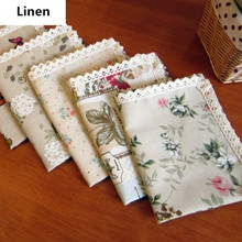 Europe Pastoral Luxury Linen Embroidered Table Cloth Home Textile Fabric Dining Tablecloth Tea Cloth Table Cover Runner Placemat