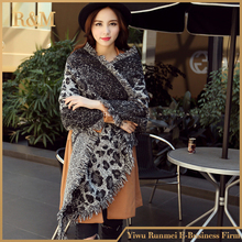 2016 Scarf Women leopard Scarf Blanket fashion Oversized Wrap Shawl