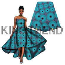 Cheap African Print material Ankara African Wax Print Fabric for Dresses African Fabric Real Wax Print Patchwork H16121521(China)