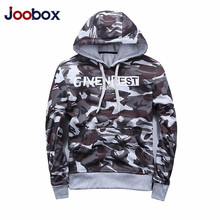 JOOBOX Brand 2017 new men's camouflage hoodies designer autumn fashion high quality plus size casual supreme hoodie men moletom