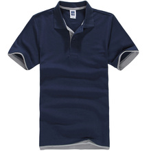 New 2017 Men's Brand Polo Shirt For Men Designer Polos Men Cotton Short Sleeve shirt Brands jerseys golftennis Free Shipping()