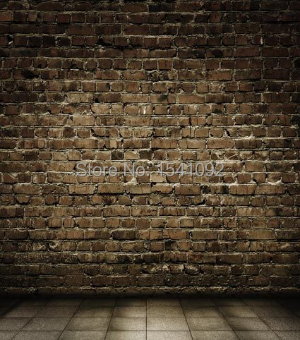 3X3M Customize vinyl photography backdrop brick wall wood computer print  background for photo studio L525<br>