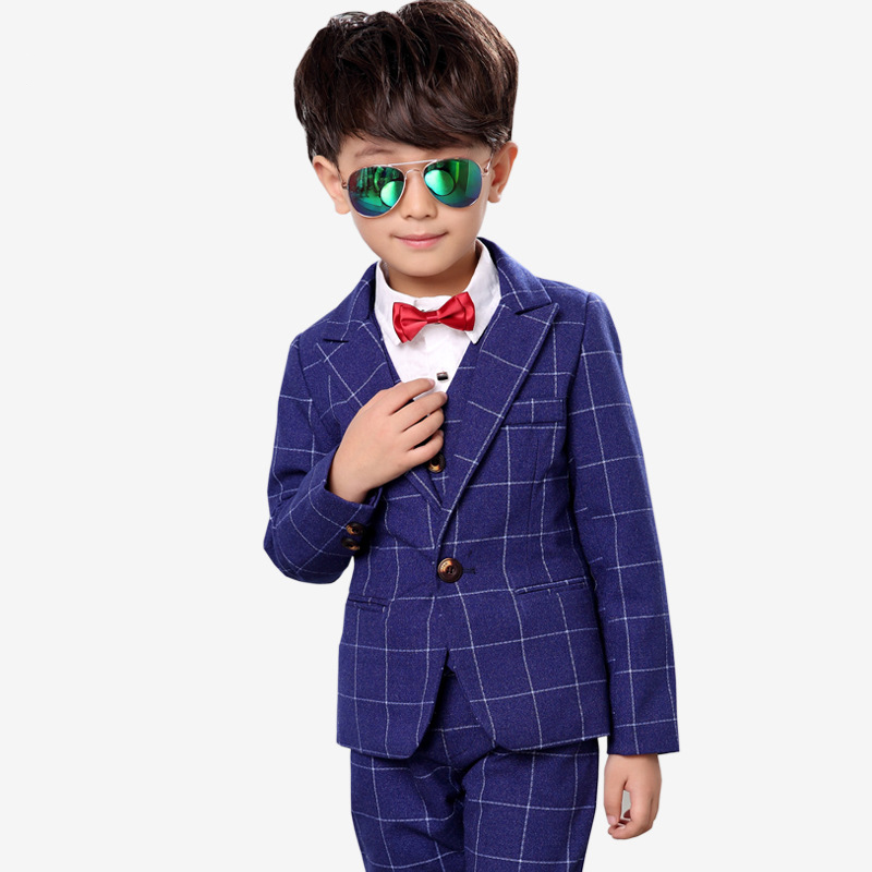 New childrens suits childrens small suits childrens jackets dress Korean childrens suit three-piece suit<br>