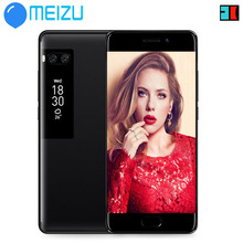 "instock Meizu Pro 7 dual camera 4G LTE 4GB 64GB Octa Core Cell Phone 5.2"" 1080P Dual Screen Dual Rear 12.0MP black color(China)"