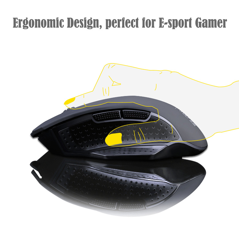 T-WOLF Q11 Mute Wireless Gaming Mouse 2400 DPI (3)