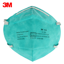 5pc 3M 9132 Surgical Masks Anti Particulate Influenza Virus N95 Dust Mask hospital CDC Dust Masks Particles Medical Particulate(China)