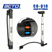 BETO High-grade Portable Cycling Bicycle Bike Shock Absorber Suspension Pumps Tire Inflator Air Pump With Pressure Gauge 300PSI