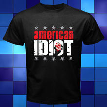 New Green Day American idiot Punk Rock Band Black T-Shirt Size S to 3XL Black Style