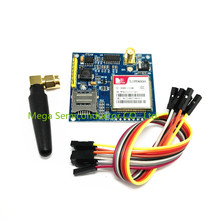 N3-03 Free shipping 1set SIM900A V4.0 Kit Wireless Extension Module GSM GPRS Board Antenna Tested Worldwide Store(China)