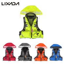 Lixada Adult Unisex Swimming Life Jacket Polyester Fishing Life Vests L-XXL Survival Safety Life Vest For Drifting Boating Kayak