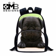 Clear Animal Backpacks for Kids Childrens Rucksacks Dog Printed School Bags for Boys Little Girls Schoolbags Bookbag for Child(China)