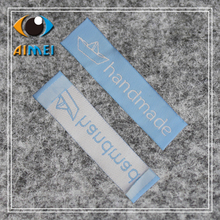 Free Shipping 100pcs/lot handmade clothing labels/garment labels / woven label/Free Design customize main label SPO015(China)