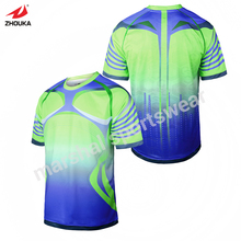 hot sale sublimation soccer jersey OEM your logo name and number dry fit sublimation print 100%polyester(China)