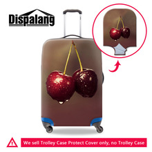 Originality Fruit 3D Pattern Dustproof Elastic Travel Luggage Cover For 18-30 inch Suitcase Women Trolley Case Protective Covers