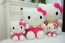 Hot sale toys 45cm Pelucia Hello Kitty dolls toys for children Girl gift Baby toys Plush Classic Toys brinquedos Valentine gifts
