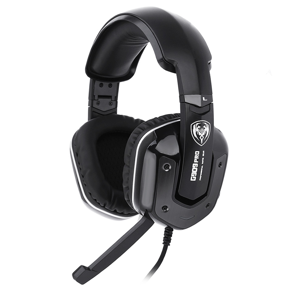 Hot SOMIC G909PRO Gaming Headphones Noise Canceling Over-ear Stereo Bass Mic Headset With Vibration Function For Computer<br><br>Aliexpress