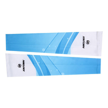 Outdoor Cycling Anti UV Sun Protection Arm Sleeve Unisex Blue Sea Design White+blue(China)