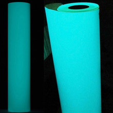 50cm30cm Glow in the Dark Blue T-Shirt Vinyl Heat Press Vinyl Transfer Cutter Plotter