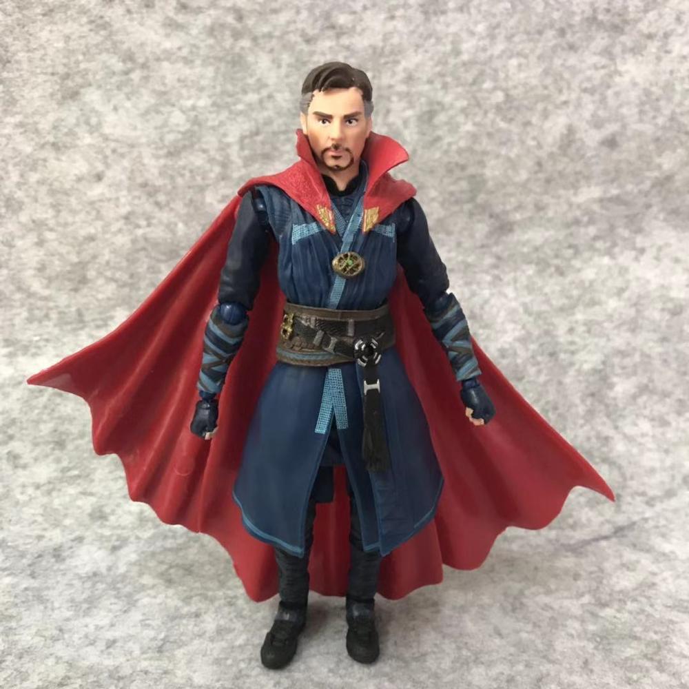 SHFiguarts Avengers Infinity War Black Widow Thanos Iron Man SpiderMan Star Load Doctor Strange Captain America Action Figure (2)