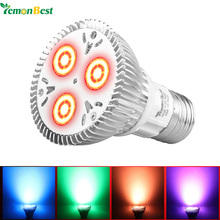 LemonBest 10W RGB PAR20 E27 LED Bulb Light Stage Lamp 16 Colors with Remote Dimmable Led Lights for Home Flash Strobe AC 85-265V(China)