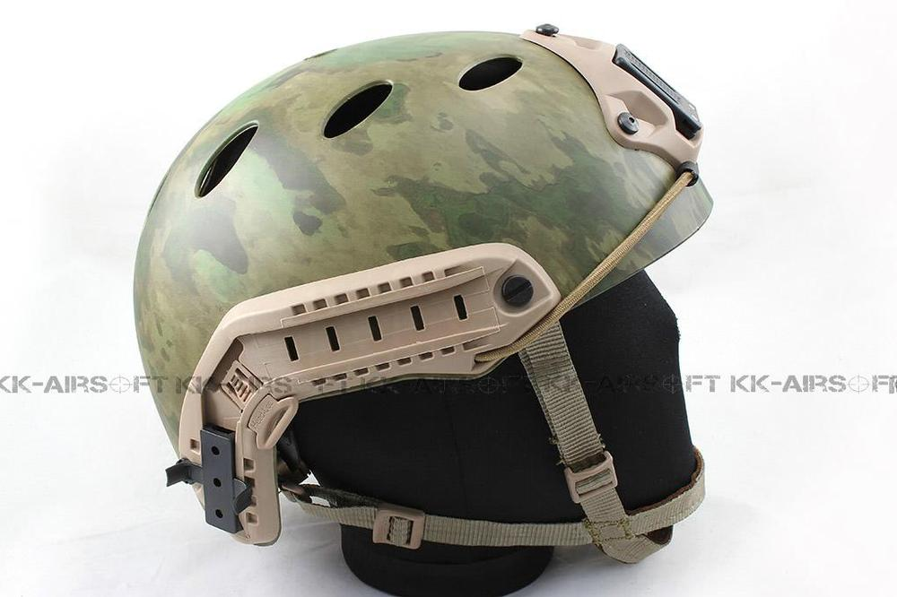 motorcycle helmet Airsoft FAST style PJ Helmet (A-TACS FG) tb470<br><br>Aliexpress