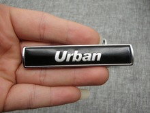 """ Urban "" Letters Word Car Trunk Badge Emblem Letter Decal Sticker for BMW Urban"