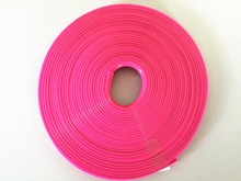800CM IPA Vehicle Car Motorcycles Wheel Rims Tire Edge Protector Guard Line Rubber Rimskins Pink Molding Insert Trim Decoration