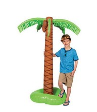 2016 Children Hawaii Inflatable Palm Trees Household Toys Big For Festival Beach Birthday Party Supplies Stage Props Decoration