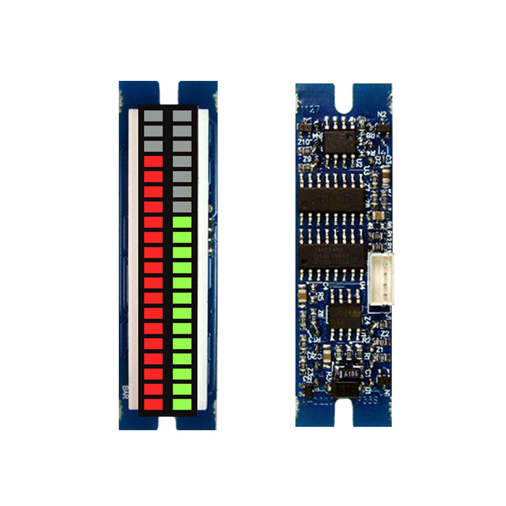 40 Section LED Double Light Column Display Electric Meter Module, a Beam of Light, Two Signals<br>